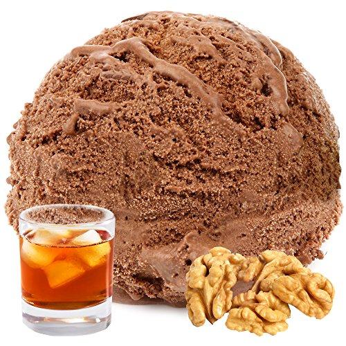 Schoko Rum Nuss Gianduja Geschmack 1 Kg Gino Gelati Eispulver Softeispulver für Ihre Eismaschine