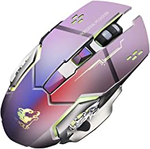 Computer Accessories Mouse!!! Fenebort Rechargeable X8 Wireless Silent LED Backlit USB Optical Ergonomic Gaming Mouse