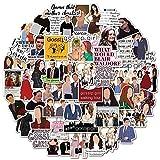 CHUDU American Tv Series Gossip Girl Personalità Decorazione Del Computer Portatile Skateboard Tazza Acqua Impermeabile Pvc Graffiti Adesivi 50 Fogli