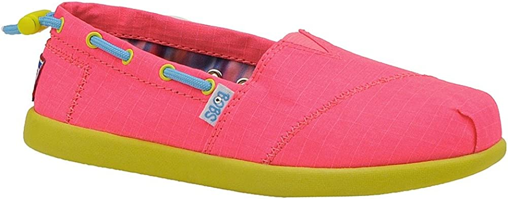 SKECHERS Toddler/Youth Bobs World - Toggle 85048L, Pink-11.5 Toddler