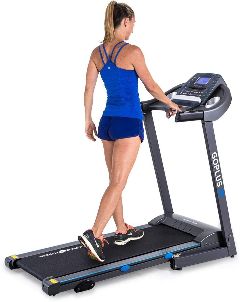 Directly managed store Goplus 2.25HP Folding Treadmill Electric Incline with online shop Superfit