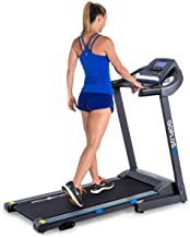 Goplus 2.25HP Electric Folding Treadmill with Manual Incline, Walking Running Jogging Fitness Machine with Blue Backlit LC...