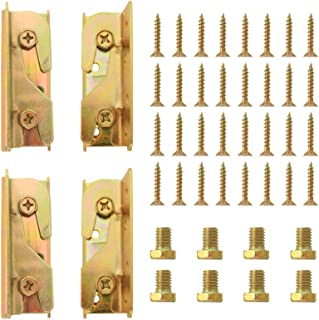 Best wood bed rail hardware Reviews