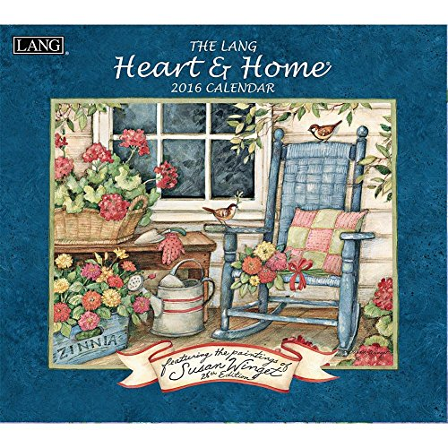 Lang Heart and Home 2016 Wall Calendar by Susan Winget, January 2016 to December 2016, 13.375 x 24 Inches (1001913)