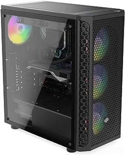 Sedatech Pro Gaming PC AMD Ryzen 5 1600X 6X 3.6GHz, Geforce RTX 3060Ti 8Gb, 16GB RAM DDR4, 240GB SSD, 2TB HDD, USB 3.1, WL...