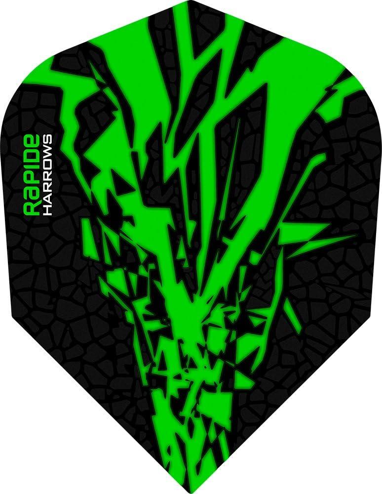 PerfectDarts List price 5 x Sets Harrows Rapide Flights Dart X Max 66% OFF Green Standa