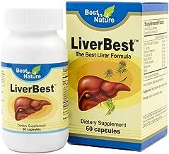 LiverBest - Vitamin Promotes Healthy Liver Function, Enhance Detoxification - with Milk Thistle, L-taurine, Sophora Flavescens, Schizandra, Kudzu Extract, Choline Bitartrate.