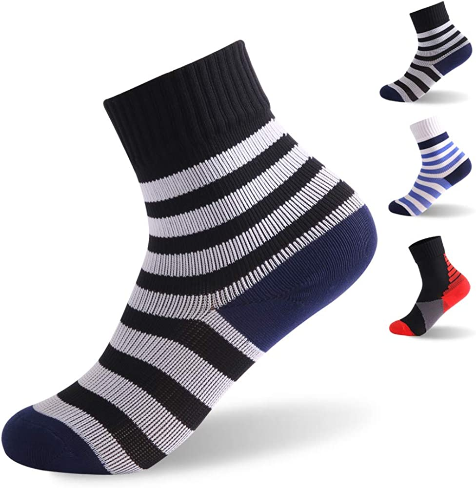 100% Waterproof Socks, RANDY SUN Boys Outdoor Sports Sock For Hiking/Ski/Fishing 1 Pair