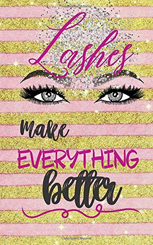 Lashes Make Everything Better: Eyelash Extension Lash Maps, and Inventory, Wish List and Restock List Pages