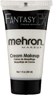 Mehron Makeup Fantasy F/X Water Based Face & Body Paint (1 Ounce) (White)