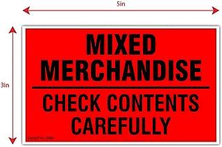 Best mixed merchandise labels Reviews