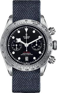 Tudor Heritage ブラックベイクロノ メンズウォッチ M79350-0003