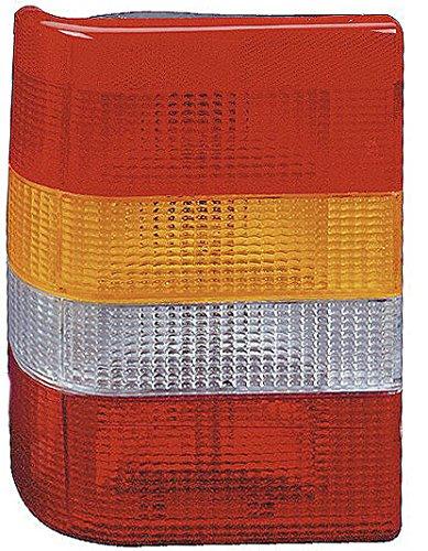 Iparlux 16222021 Feu arrière gauche sans douille Orange/blanc/rouge