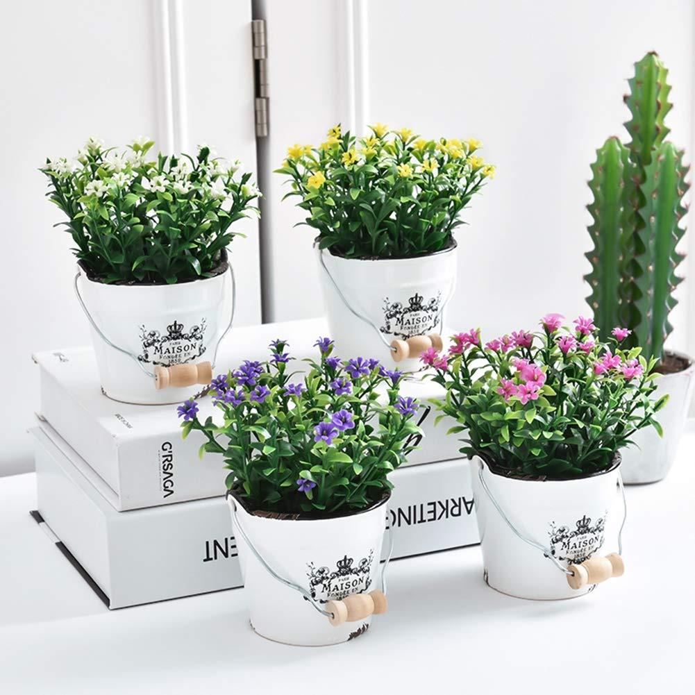 DE vos Grande Soie Boston Foug/ère Plante Herbe verte D/écoration de la Maison Etbotu Plante artificielle style:1 pcs