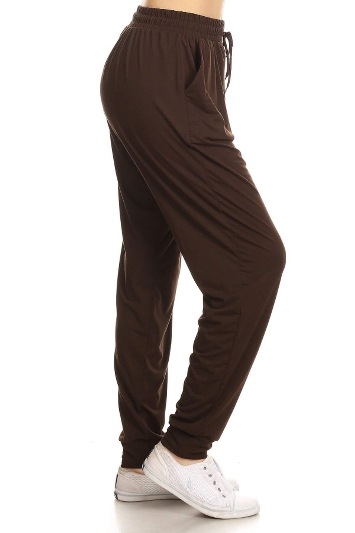 Leggings Depot 优质慢跑者女士流行印花高腰运动裤(S-XL)