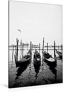 Lienzo textil prémium, 80 cm x 120 cm de alto, imagen sobre lienzo auténtico. Calendario de Venecia (CALVENDO);CALVENDO Orte