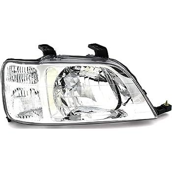 Amazon Com For Honda Crv Headlight 1997 1998 1999 2000 2001 Driver And Passenger Side Headlamp Replacement Automotive