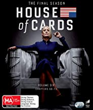 House Of Cards: Season 6 (The Final Season) (Volume 6: Chapters 66 - 73) (Blu-ray)