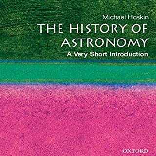 The History of Astronomy audiobook cover art