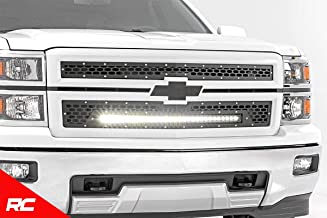 Rough Country Custom Mesh LED Grille Compatible w/ 2014-2015 Chevy Silverado 1500 30
