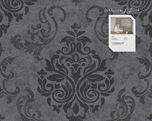 Tapete 953723 Kollektion Memory 3 inklusive E-Book,Grau, Natur, Modern, A.S. Création, Vinyltapete 95372-3