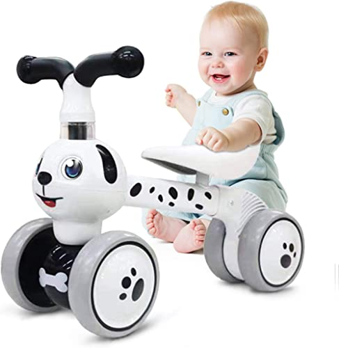 Ancaixin Baby Balance Bikes 10-36 Month Children Walker | Toys for 1 Year Old Boys Girls | No Pedal Infant 4 Wheels T...
