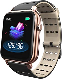 $25 » RONSHIN Y6Pro Smart Bracelet 1.3-inch Color Screen Real-time Heart Rate Blood Pressure Sleep Monitoring IP67 Waterproof Sports Watch rose gold silicone strap Electronic Accessories