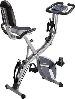 Sponsored Ad - PLENY 3-in-1 Total Body Workout Exercise Bike w/Backlit Screen, High Backrest, Adjustable Resistance Bands ...