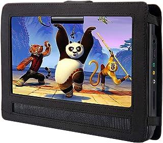 Car Headrest Mount Holder,12'' Portable DVD Player Mount for Swivel & Flip Portable DVD Player 12 inch, Suitable for Most ...