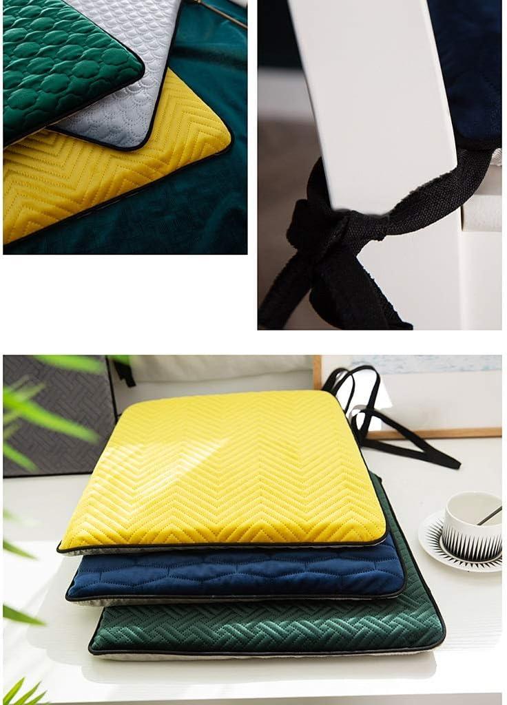 Coussin de chaise GCX 4 saisons antidérapant pour la salle à manger et la salle à manger amovible et lavable (couleur : C) D