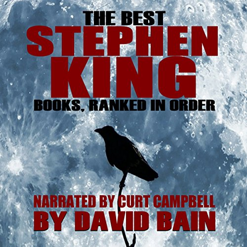 The Best Stephen King Books, Ranked in Order audiobook cover art