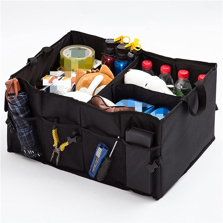 Regular discount YANGHUAWU Car Organizer Max 54% OFF Storage Bag Stora Trunk Folding Box Mesh
