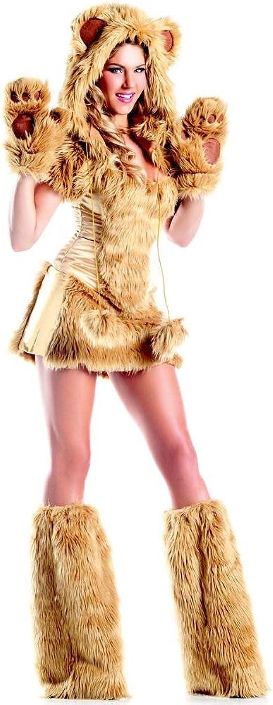 venta con descuento mujer Deluxe oroen Bear Fancy Fancy Fancy dress costume Small Medium  compras de moda online