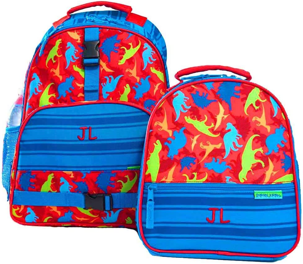 Max 83% OFF Personalized Today's only Dinosaur Trendsetter Backpack Combo Box Lunch