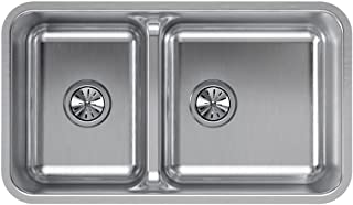 Best stainless steel double sink dimensions Reviews