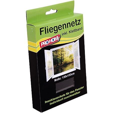 Fliegennetz Meterware 1,99/€//m/² Breite 100cm Fliegengitter GRAU Insektenschutz Gitter Fiberglas