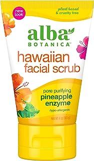 Alba Botanica Pore Purpose Pineapple آنزیم اسکراب صورت هاوایی ، 4 اونس.