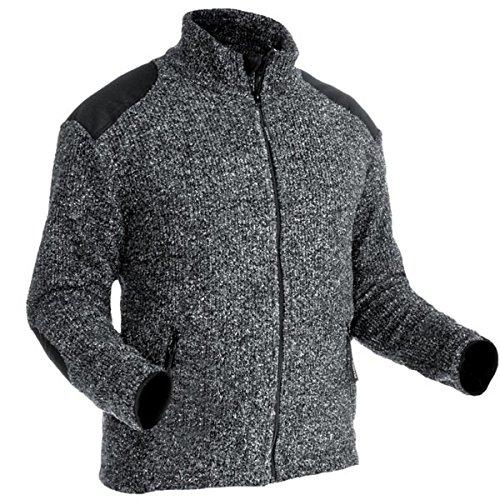 Pfanner warme Jacke aus gestricktem Fleece 101318, Größe:XL, Farbe:grau