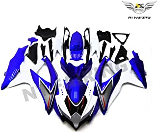 Fairing Kits Fit for Suzuki GSX-R600 K8 08-10 GSXR 600 750 2008-2010 Motorcycle Fairing Kit Plastic ABS plastic Injection Molding Kit Motorcycle Fairing Bodywork