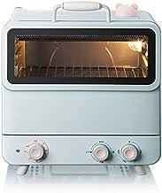 El mini encimera de horno de tostadora con convección, 1200W, ajuste de tostadas de asado, incluye sartén, bastidor para hornear y bandeja de miga, (20L)