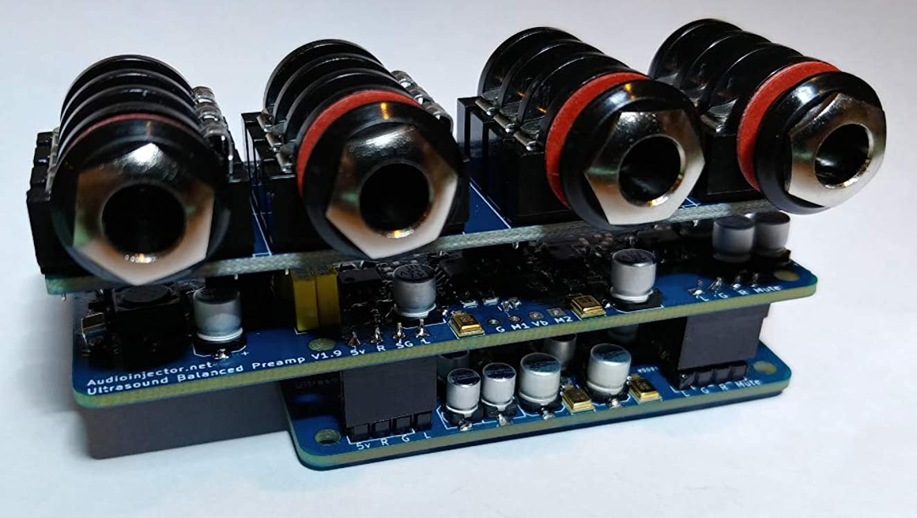 Audio Injector Ultra 2 Sound Card for The Raspberry Pi