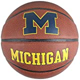 Baden Sports Michigan Wolverines Mens Composite Leather Indoor/Outdoor Basketball