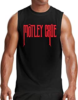Motley Crue Logo Sports Mans Tops Short Sleeve Tee