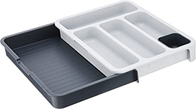 Joseph Joseph DrawerStore expandable cutlery tray - Grey Grey