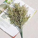 ASDGSDS Flores Artificiales, 1 Bundle Simple 5 Fork Plus Powder Hippocampus Artificial Flowers Home Decor Ornaments Wedding Photography Manual DIY,3