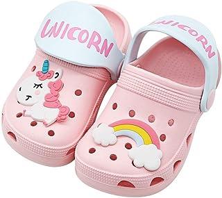 Enfant Sabots Mixte Mules de Jardin Fille Chaussures Clogs Sandales Licorne Antidérapant Eté Piscine Plage Chaussures D'in...