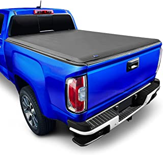 """Tyger Auto 5'2"""" T1 Roll Up Truck Tonneau Cover TG-BC1C9012 Works with 2015-2018 Chevy Colorado/GMC Canyon 