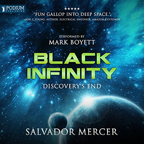 Black Infinity audiobook cover art