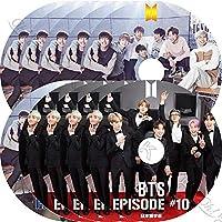 KPOP DVD BTS BANGTAN EPISODE 10枚SET 防弾エピソード 日本語字幕 防弾少年団 バンタン