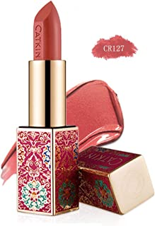 CATKIN Rouge Matte Lipstick, Waterproof Long Lasting Satin Moisturizing Smooth Soft 0.13 Ounce-Chinese Style-CR127